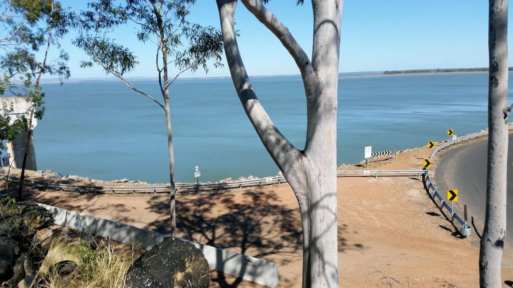 Fairbairn Dam– like an Oasis in a dessert. Emerald is a nice town mid West Qld on the road to Longreach.