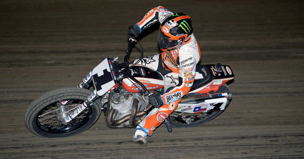 Jared Mees Dominates Black Hills Half-Mile - Photo by AMA Pro Racing/Dave Hoenig