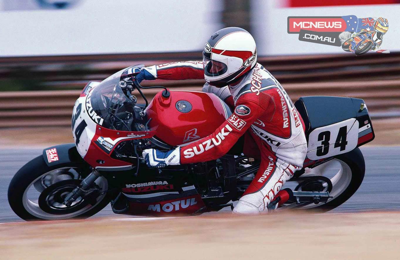 Kevin Schwantz 1986 Suzuki GSX-R750