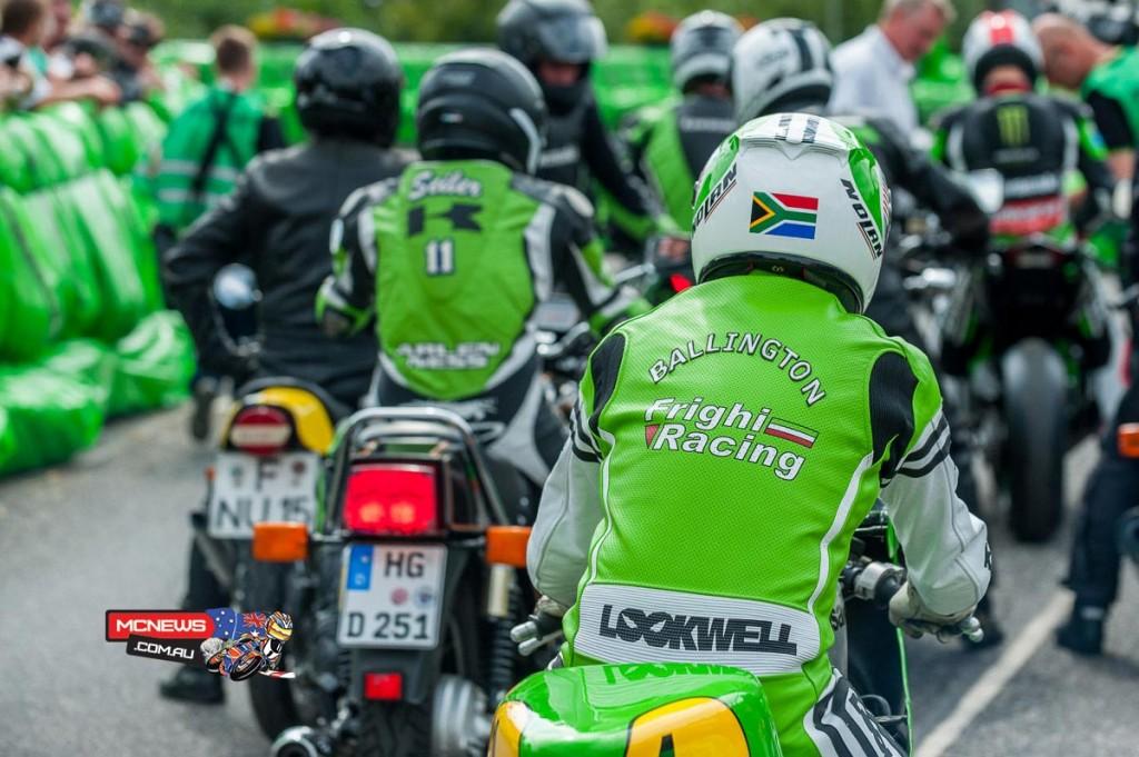 Kork Ballington - Schottenring Kawasaki Days 2015