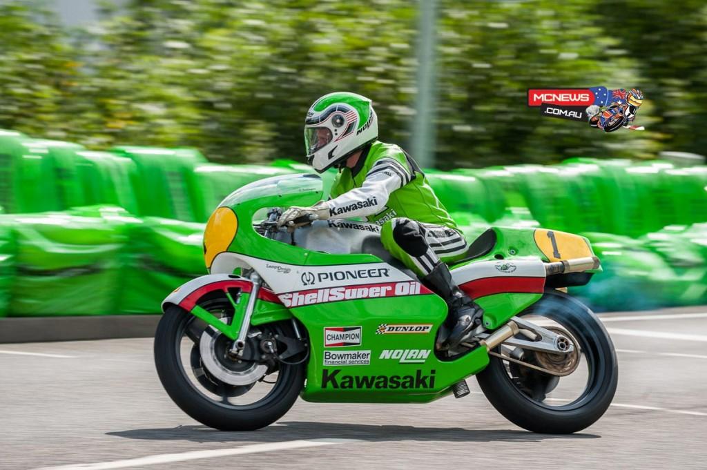 Kork Ballington - Kawasaki KR500 - Schottenring Kawasaki Days 2015