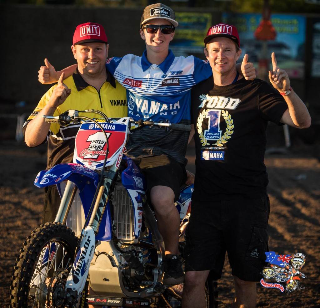 MX Nationals 2015 - Rookies Cup Winner - Hunter Lawrence