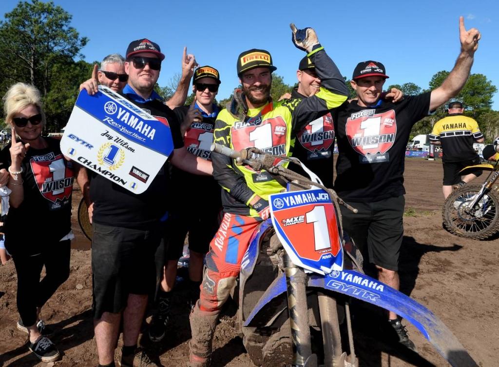 JCR Yamaha's Jay Wilson takes fairytale MX2 Championship win