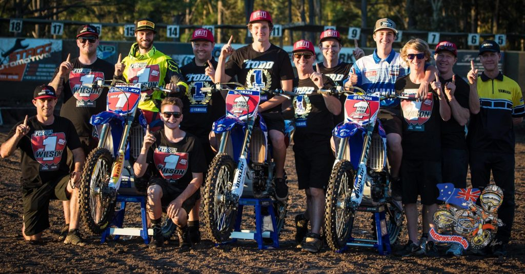 MX Nationals 2015 - Yamaha and YZ250F takes MX2, MXD and Rookies Cup Titles at Coolum