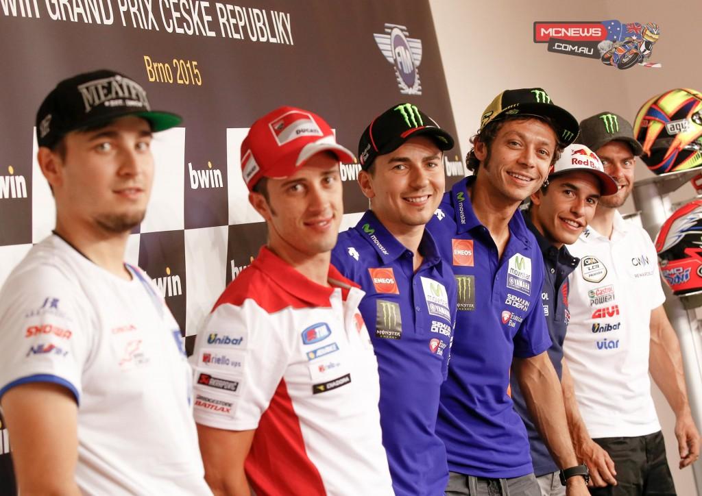 MotoGP 2015 Brno Pre-Event Press Conference