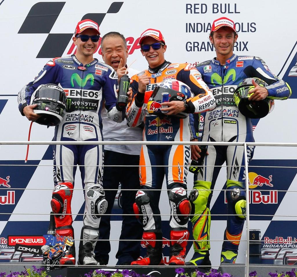 Indy MotoGP 2015 - Podium