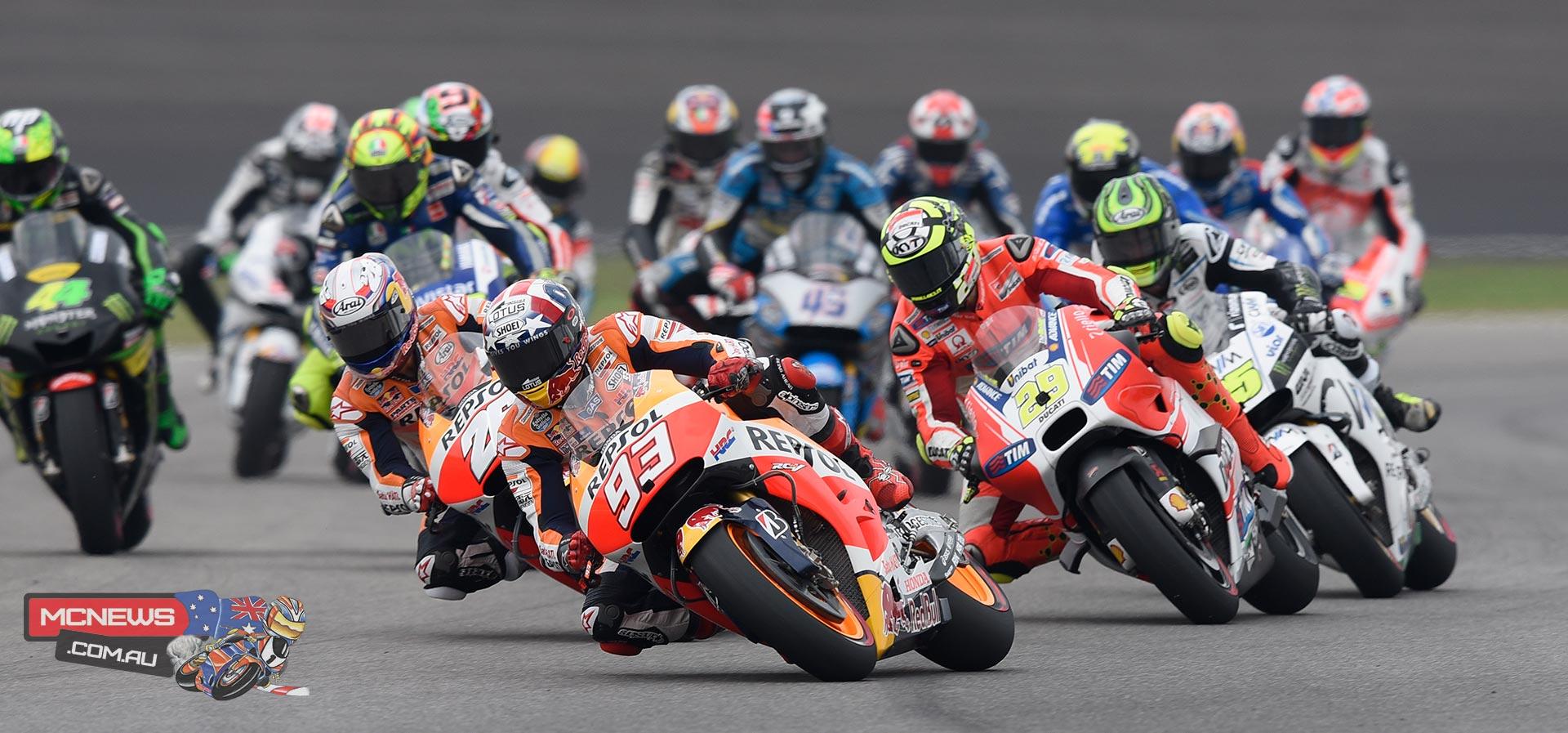 MotoGP Indy 2015 Start