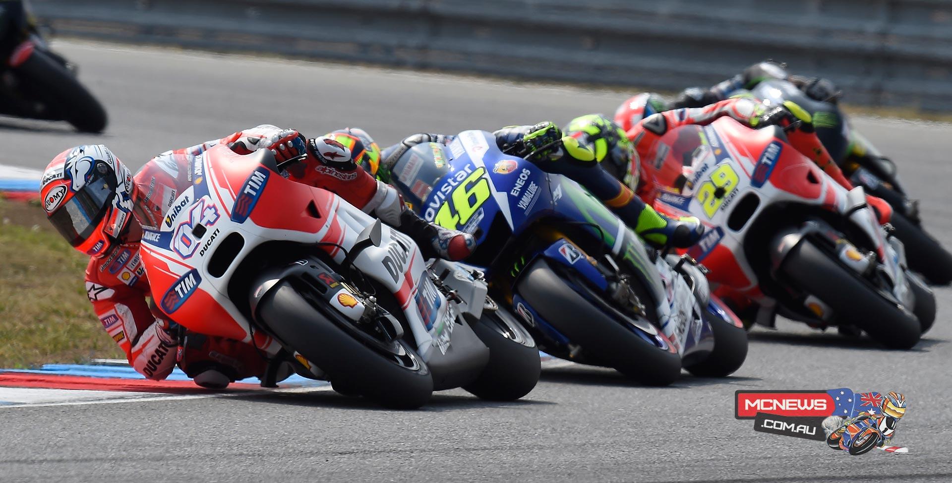 MotoGP 2015 - Round 11 - Brno - Andrea Dovizioso, Valentino Rossi, Andrea Iannone