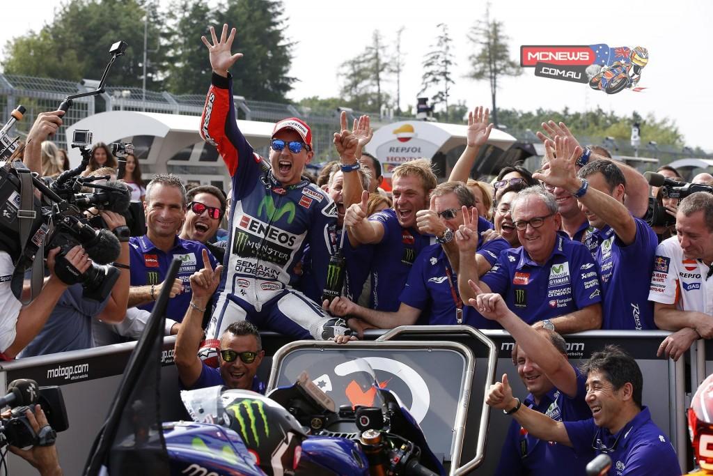 MotoGP 2015 - Round 11 - Brno - Jorge Lorenzo