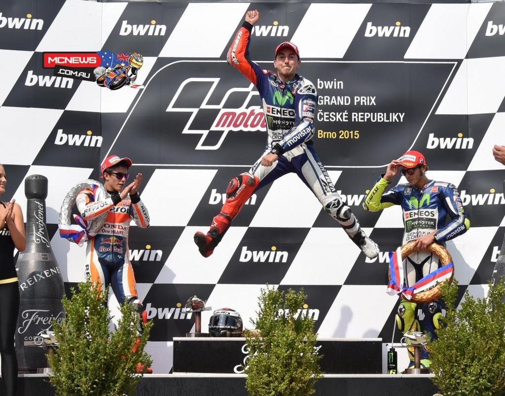 Jorge Lorenzo - Brno MotoGP 2015