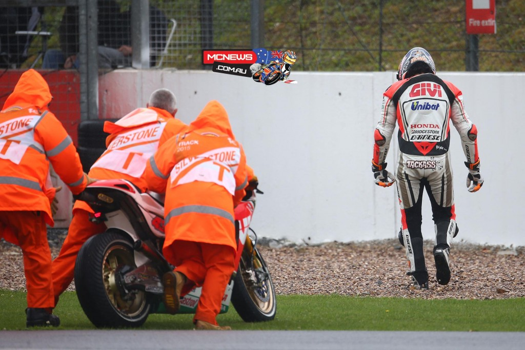 Jack Miller and Cal Crutchlow crash at Silverstone MotoGP