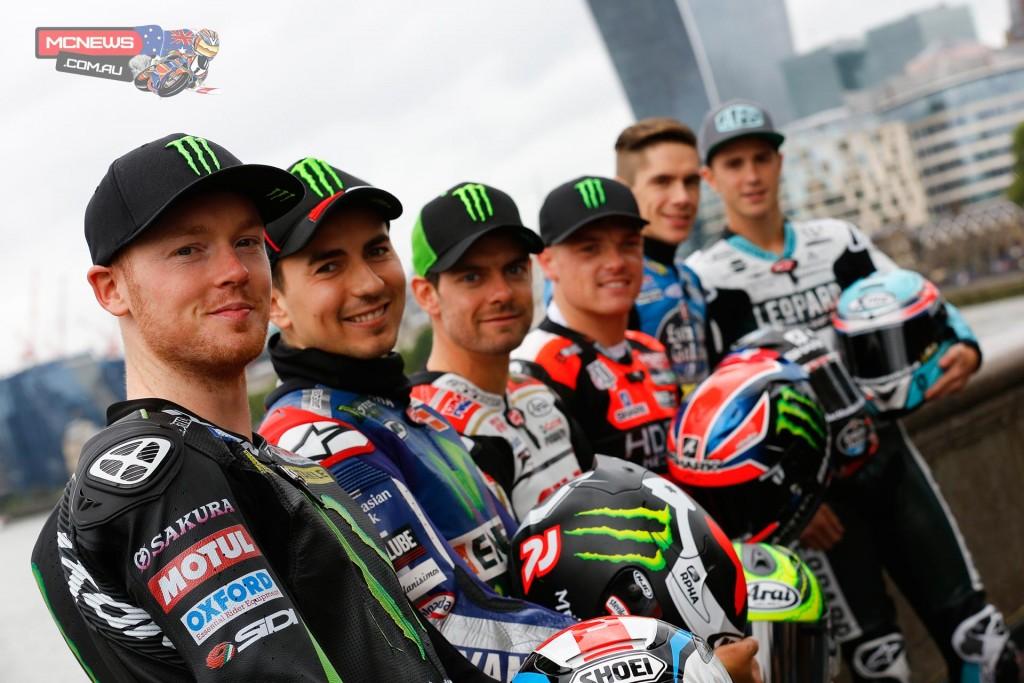 MotoGP riders in London