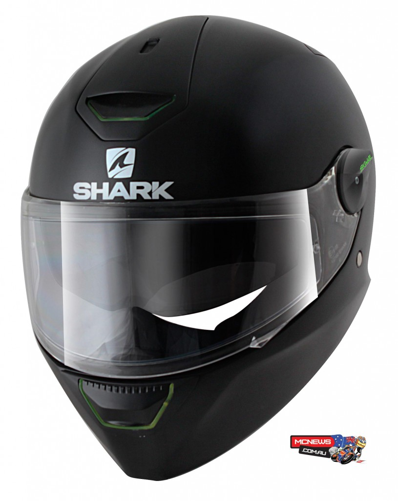 Shark Skwal - The first helmet with LED lights