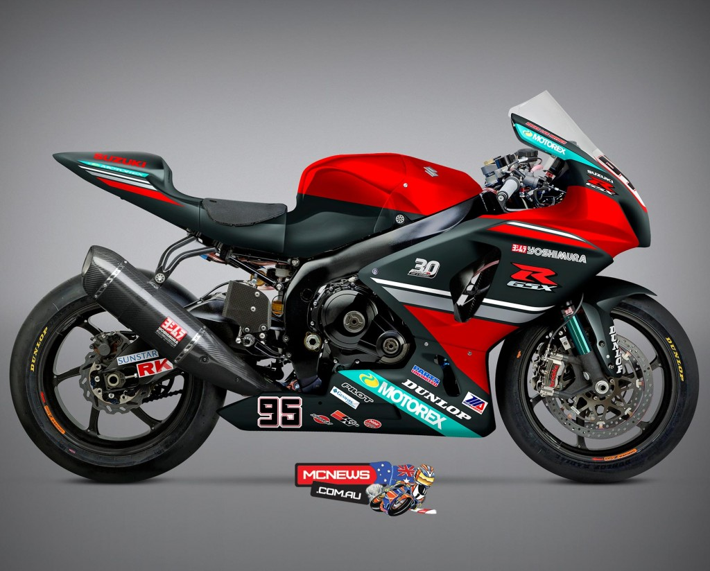 30th Anniverary GSX-R - Roger Hayden will roll-out a special livery at the Red Bull Indianapolis combined MotoGP/ MotoAmerica event on August 7-9th at the Indianapolis Motor Speedway in America