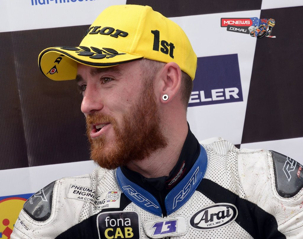 Lee Johnston at the 2015 Ulster Grand Prix