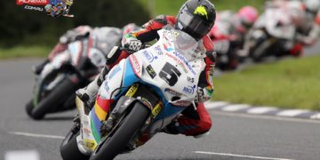 Bruce Anstey won the opening Superbike race at the Ulster Grand Prix
