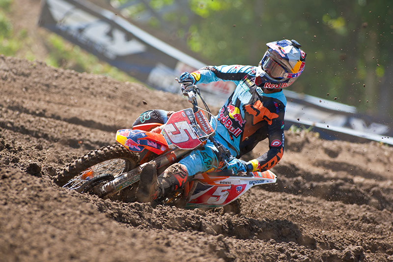 Dungey has been nearly unbeatable in the second half of the season. (Photo: Matt Rice)