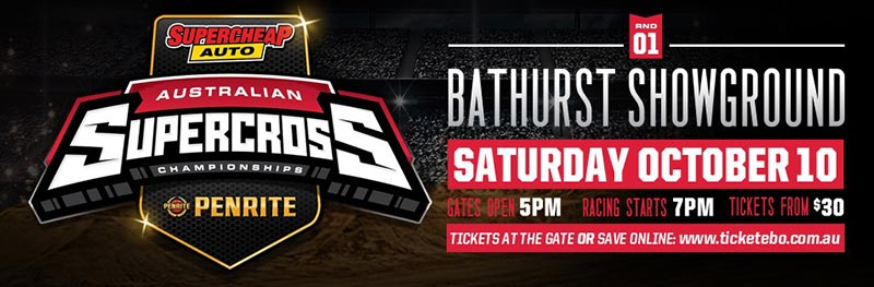 All eyes will be on Bathurst Showground when the gate drops on the 2015 Australian Supercross Championship on October 10.