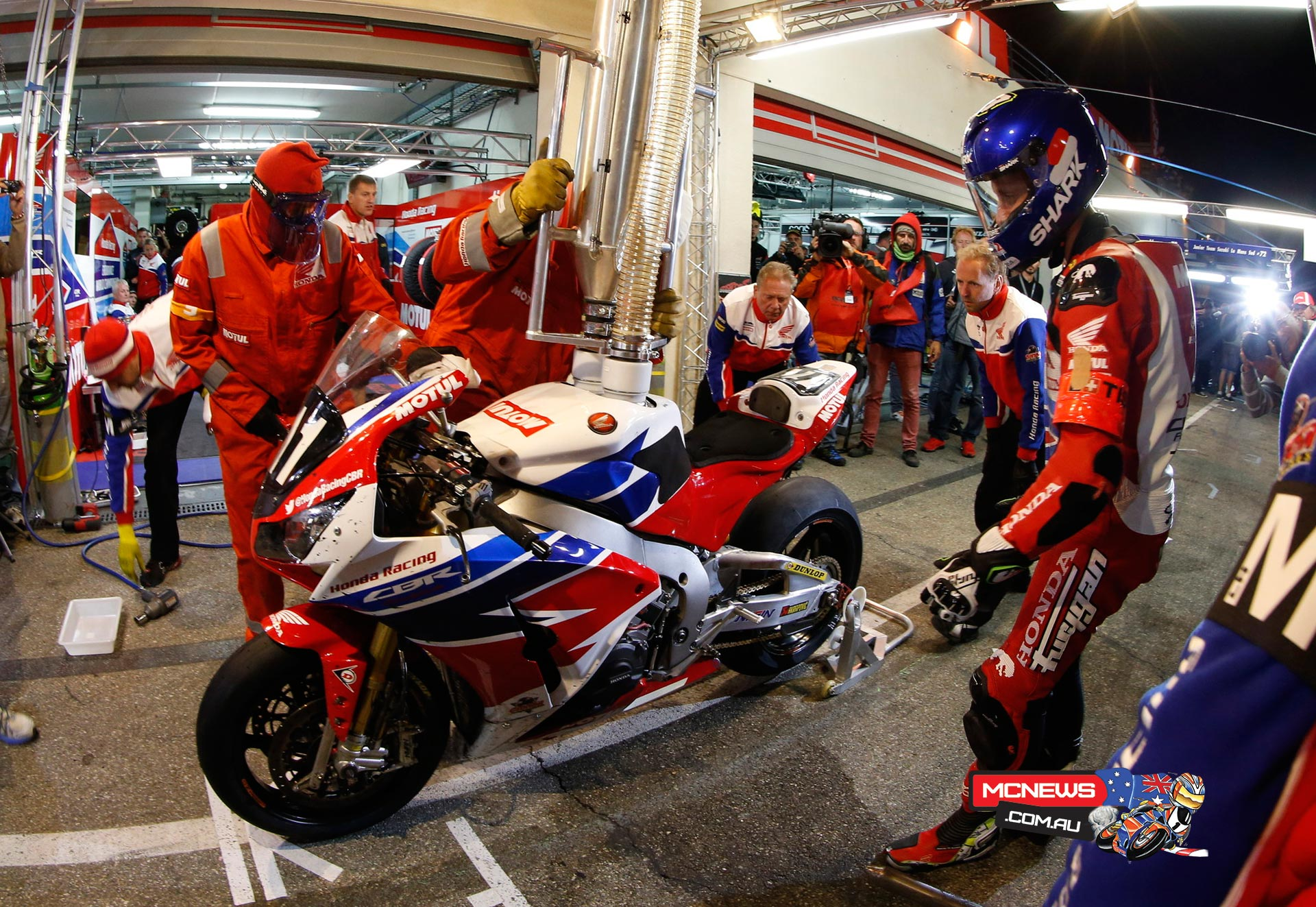 2015 Bol d'Or - Honda Endurance Racing Team
