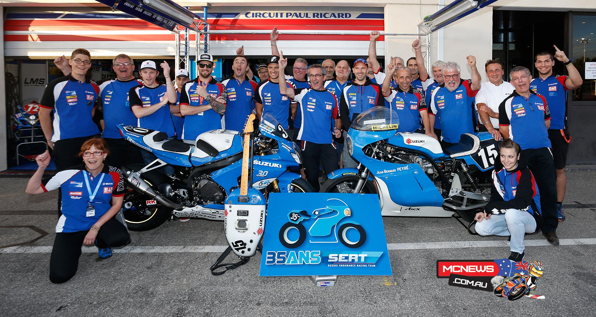 2015 Bol d'Or - Suzuki Endurance Racing Team (SERT) - World Endurance Champions 2015
