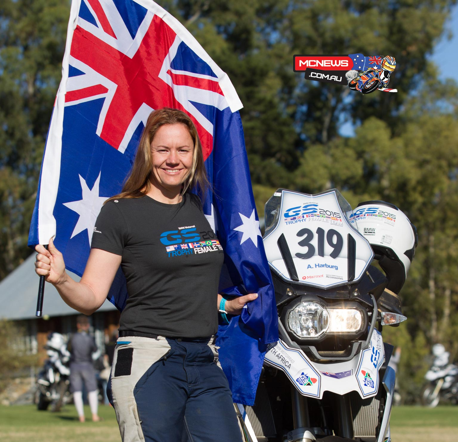 Amy Harburg, Australia , was a part of the first ever female team in Thailand in 2016.