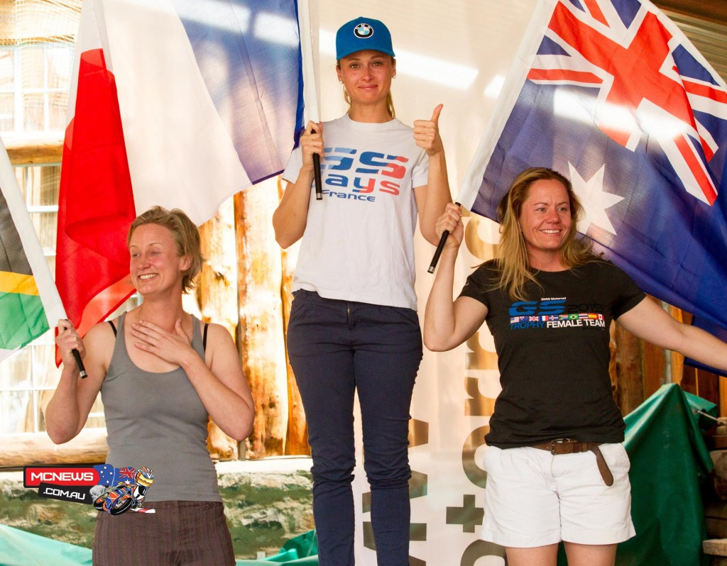 Stephanie Bouisson, France, Amy Harburg, Australia and Morag Campbell, South Africa, will form the first ever female team in Thailand in 2016.