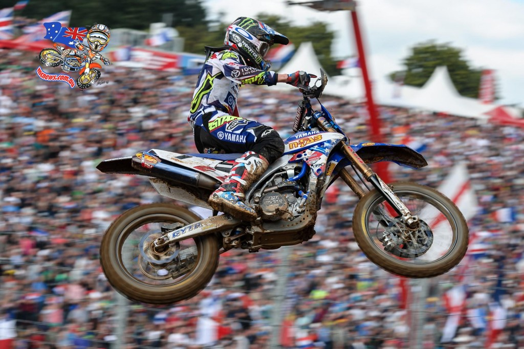 Justin Barcia took out the opening moto at the 2015 MXoN