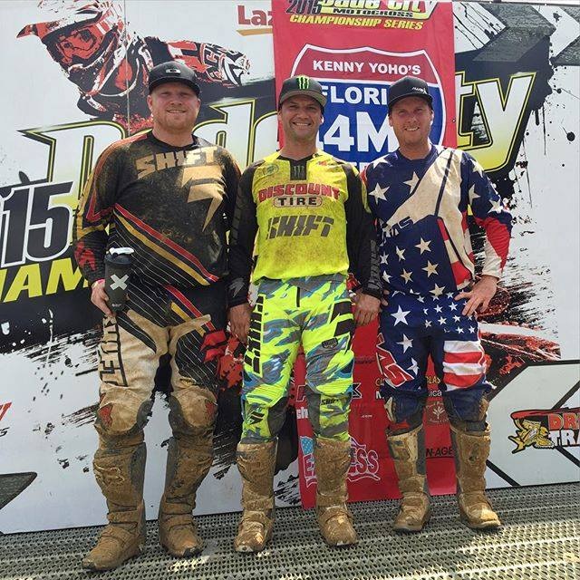 Chad Reed out racing for fun