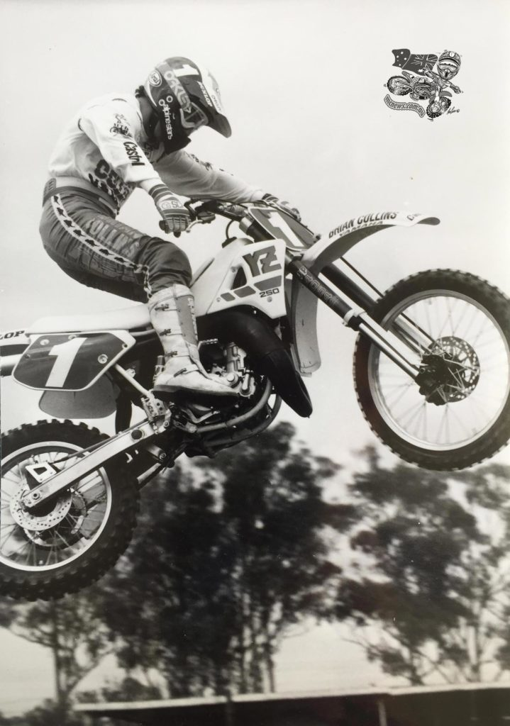 Craig Dack action photo 1988