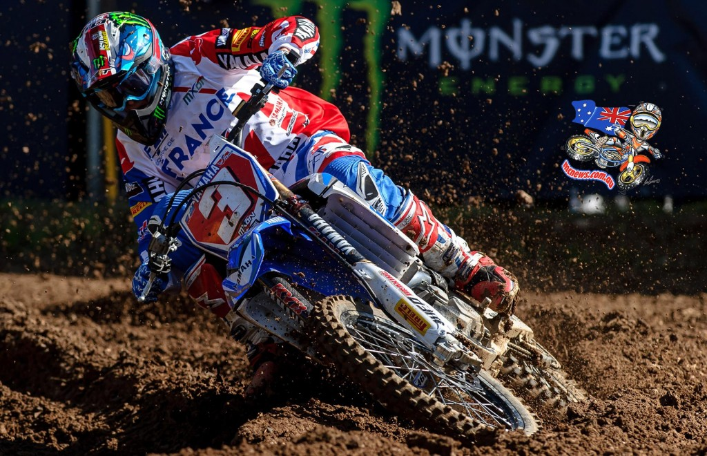 Romain Febvre was the fastest rider at the 2015 MXoN