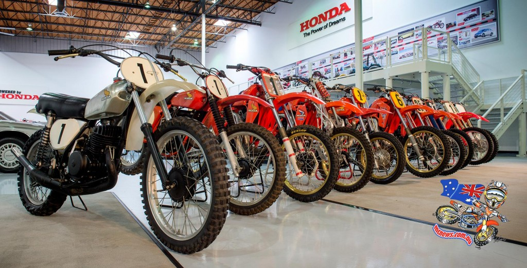 From 1973 to 2015 - Honda's off-road machines