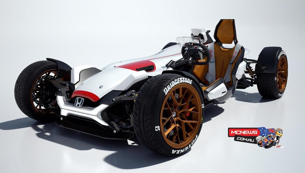 RC213V powered Honda sports car revealed in Frankfurt