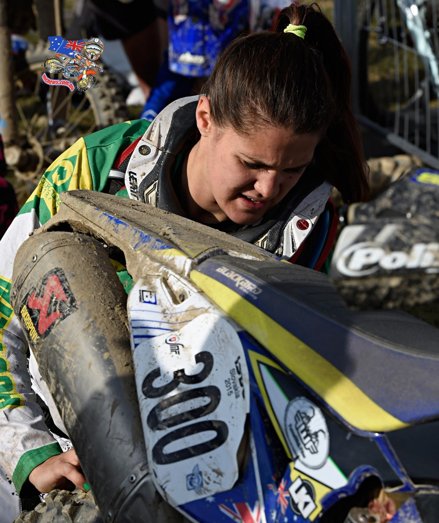 ISDE 2015 - Day Two - Jessica Gardiner