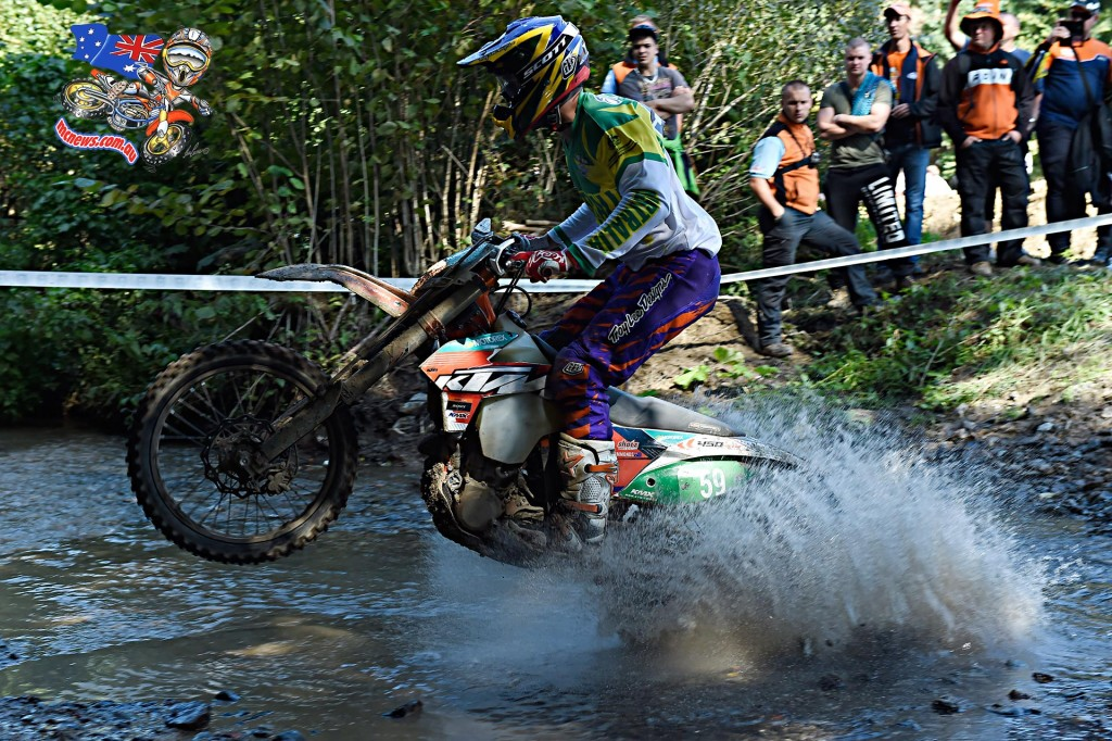 ISDE 2015 - Day Two - Tye Simmonds
