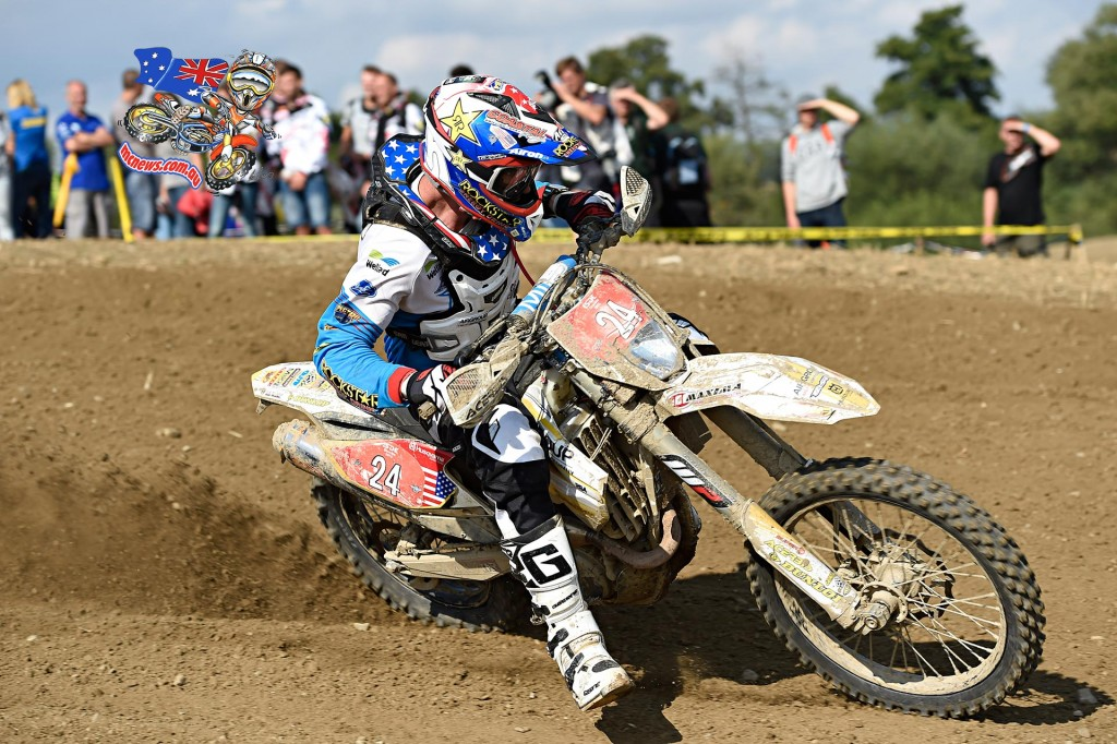 USA's Ryan Sipes took the outright individual ISDE victory