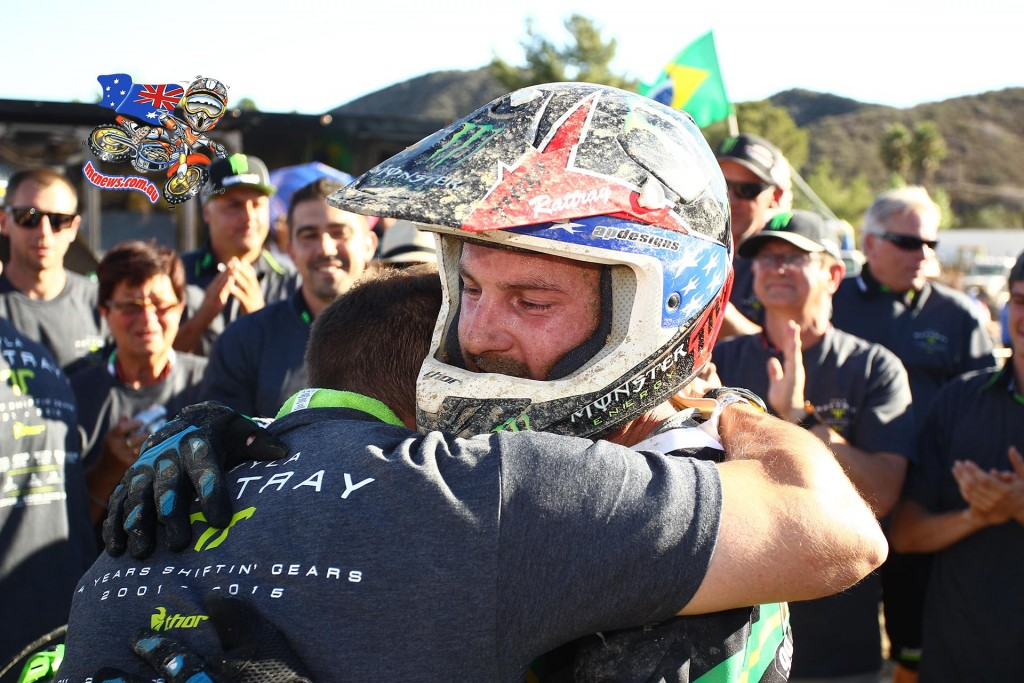 Tyla Rattray signed off on an extensive international professional motocross career