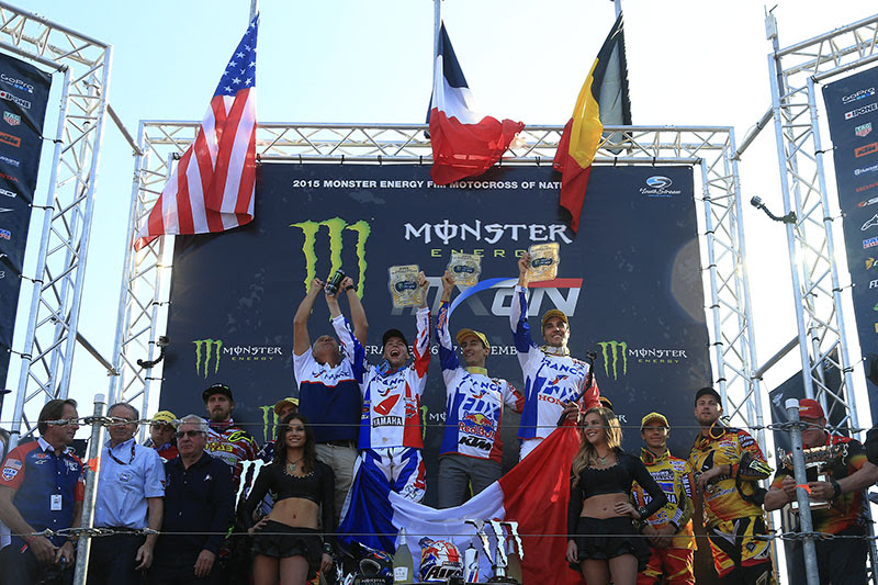 MXoN 2015 - Winners - Team France
