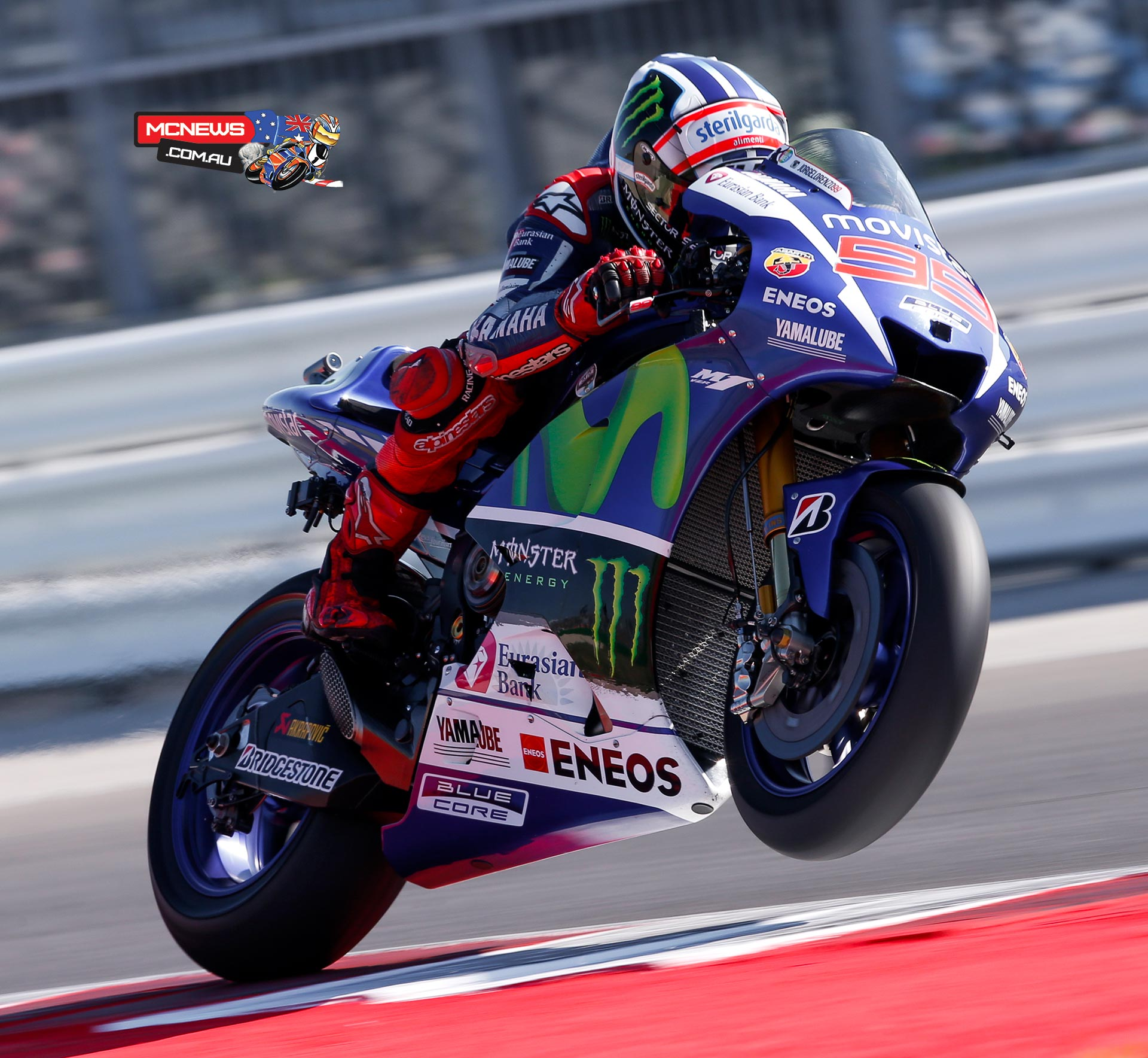 Jorge Lorenzo sets a new Pole Record to take his third pole position of the season with Marquez and Rossi completing the front row.