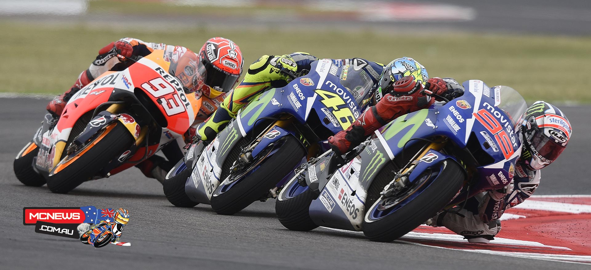 Motogp Title Down To The Wire At Valencia Mcnewscomau