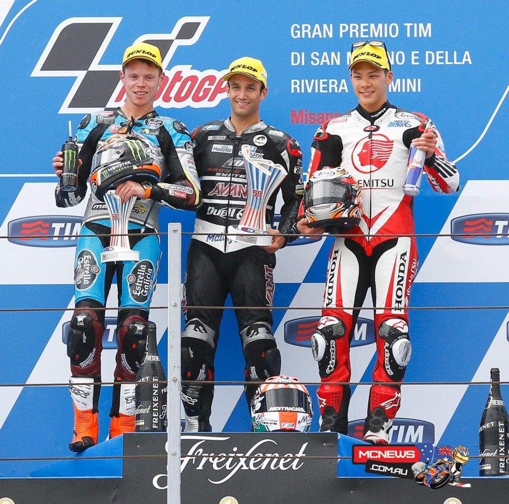 Misano MotoGP 2015 - Podium - Moto 2