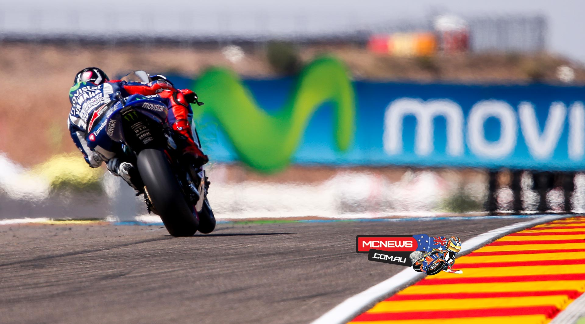 Jorge Lorenzo set the fastest times in each sector on the way to topping both sessions on Friday at the Gran Premio Movistar de Aragón.