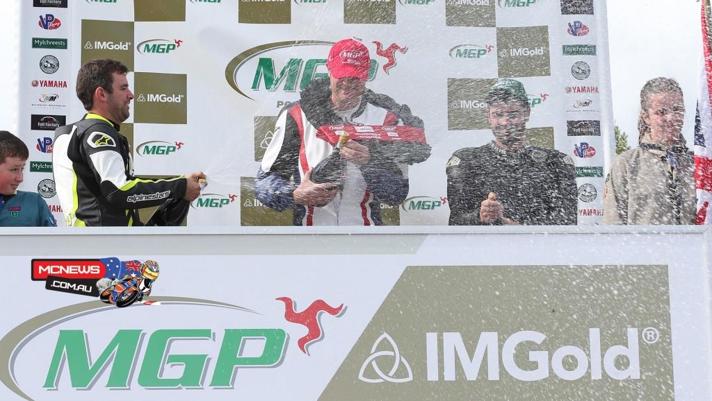 IMGold Manx Grand Prix Newcomers Race, Class A Podium.