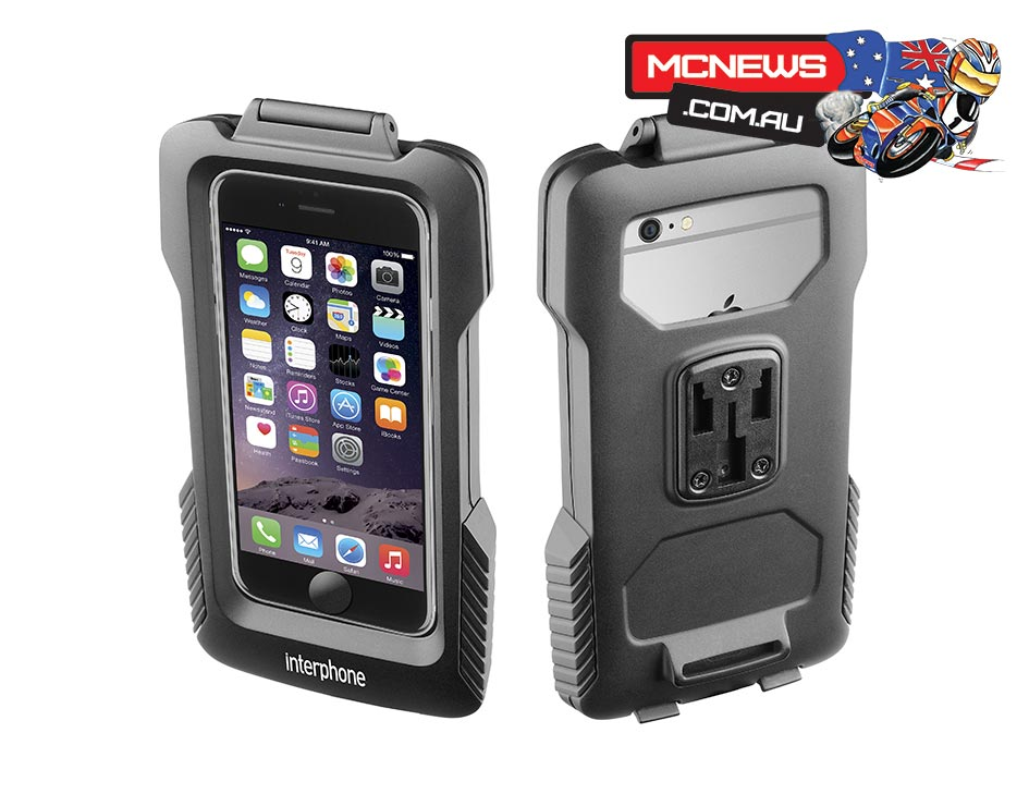 Interphone Smart Phone Pro Case Bar Mount Holder - RRP: $89.95