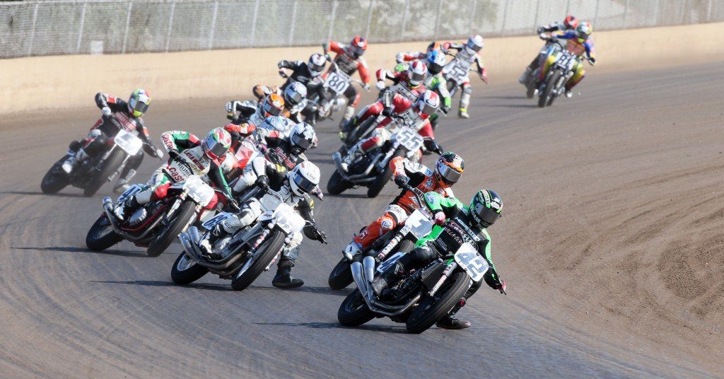 Bryan Smith leads Springfield Mile