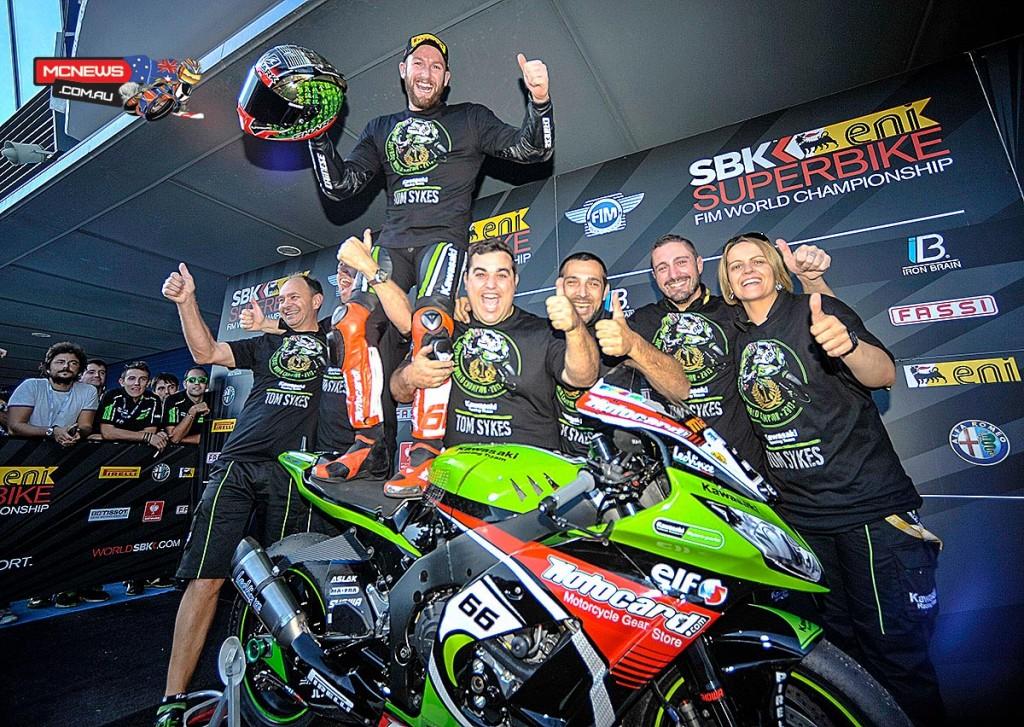 Tom Sykes - 2013 World Superbike Champion