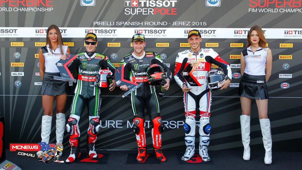World Superbike 2015 - Jerez - Qualifying