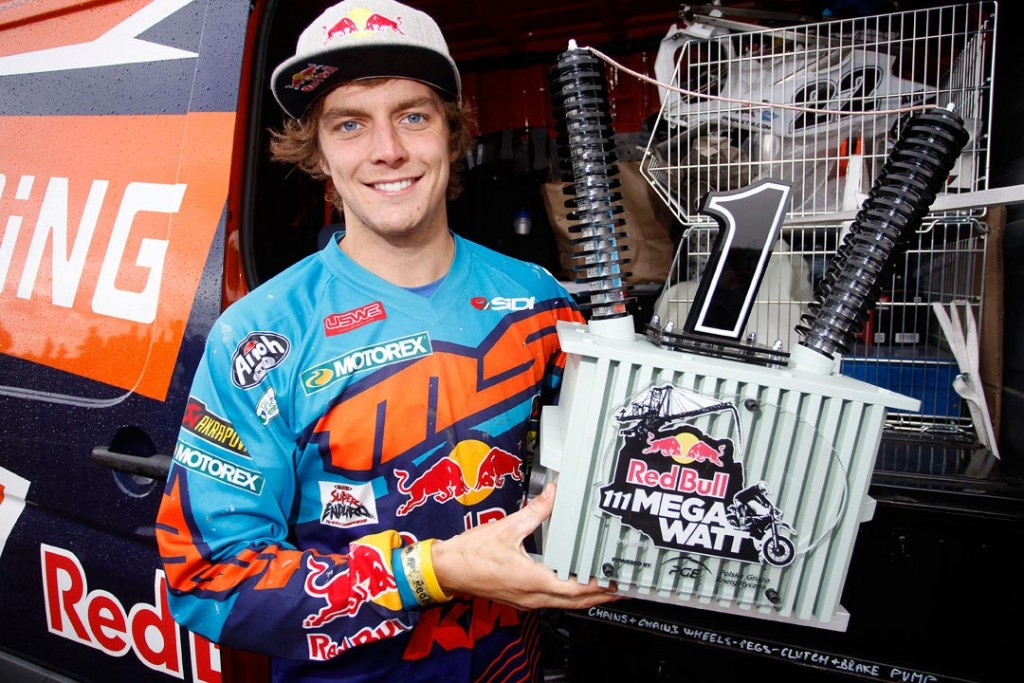 Jonny Walker has claimed another major extreme enduro victory, this time winning Red Bull 111 Megawatt – Taddy Blazusiak's signature race held in Poland.