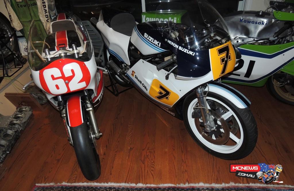 #7 is a MkVIII RG500 Suzuki