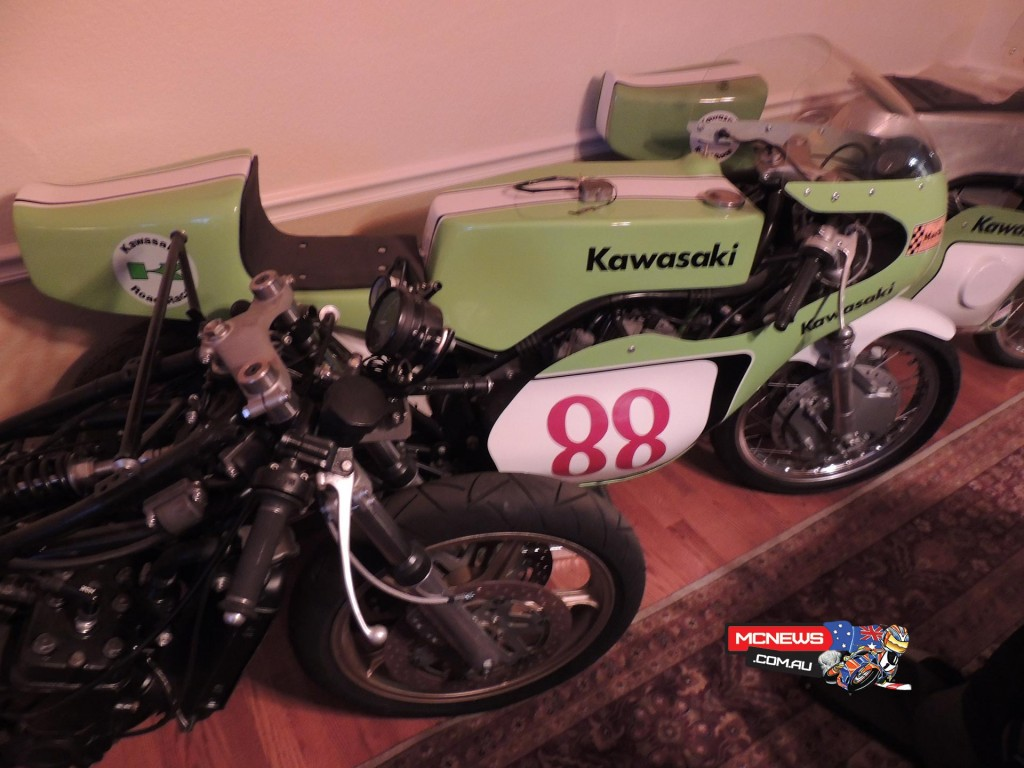 #88 is a factory prototype S1R. Based on a 250 triple that was tried by the factory but it wasn't successful. Was trialled but not raced. Shouldn't exist but it does.