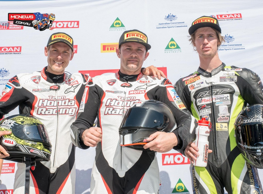 ASBK Yamaha Motorcycle Insurance Superbikes Race Two - ASBK 2015 Round Five Phillip Island